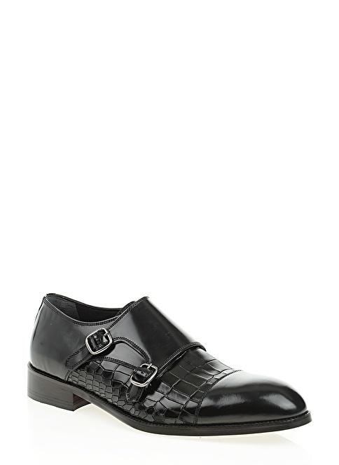 Baqietto %100 Deri Ayakkabı Siyah